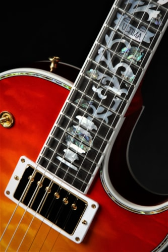 "Gibson Custom Shop Les Paul Ultima ""Tree of Life"" - Heritage Cherry"