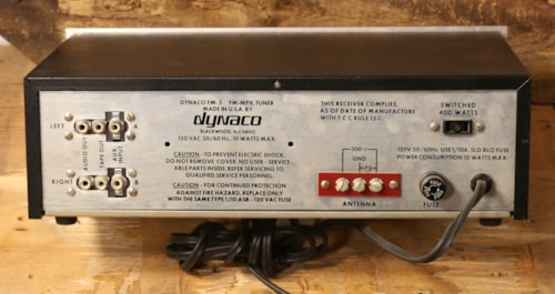 Dynaco FM-5 FM Tuner with Box