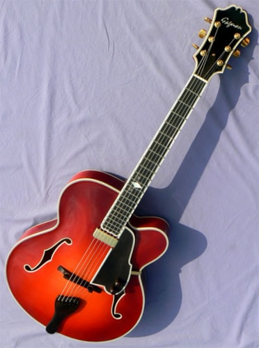 2002 Gagnon DeVant: All Carved, US Luthier Quality Archtop: Best Buy!