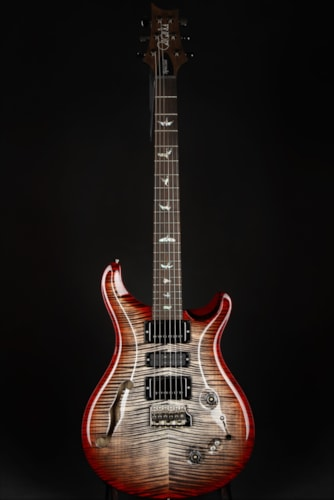 Paul Reed Smith (PRS) Eddie's Guitars Wood Library Special Semi Hollow - Charcoal