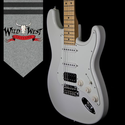 2018 Suhr Classic S (Classic Pro) HSS Maple Neck & Fingerboard Olympic White