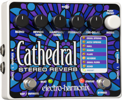 ELECTRO-HARMONIX EHX Cathedral Stereo Reverb