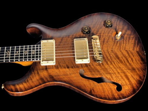2010 Paul Reed Smith PRS Private Stock McCarty Semi-Hollow w F Hole Flamed Walnut