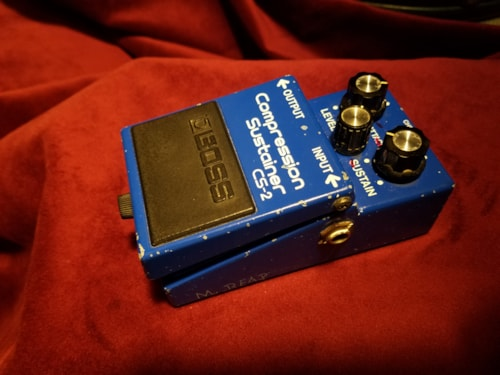 ~1982 Boss CS-2 Compression/Sustainer - Japan