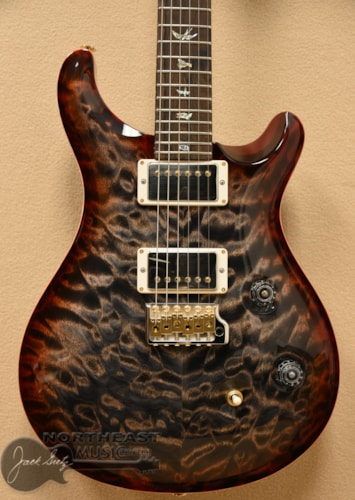PAUL REED SMITH PRS Wood Library Custom 24 Fatback - Charcoal Cherry Burst 10 Top