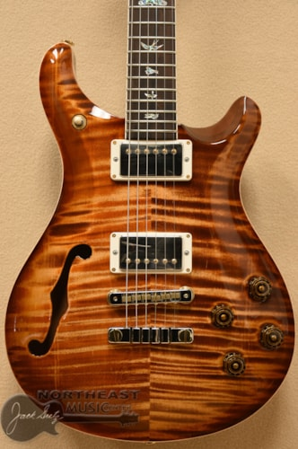 PAUL REED SMITH PRS Wood Library McCarty 594 Semi-Hollow - Copperhead 10 Top