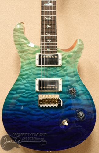 PAUL REED SMITH PRS Wood Library Custom 24 Fatback - Blue Fade 10 Top