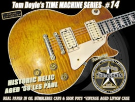 """2013 Gibson Tom Doyle """"Time Machine"""" Relic Historic Les Paul Standard (1959 Reissue)"""