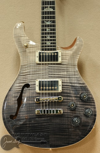 PAUL REED SMITH PRS Wood Library McCarty 594 Semi-Hollow - Grey Black Fade 10 Top