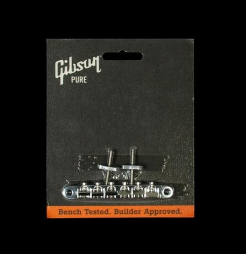 Gibson ABR-1 Bridge (Chrome) > Guitar Parts | The Music Zoo