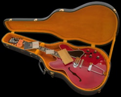 1966 Gibson ES-330TDC, Stunning CHERRY RED TIME CAPSULE example