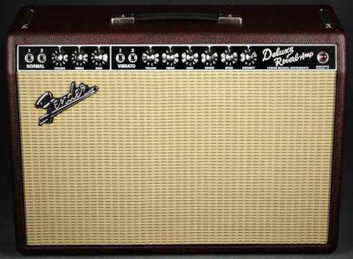 Fender Limited Edition '65 Deluxe Reverb Wine Red/Jensen P12Q - 1x1