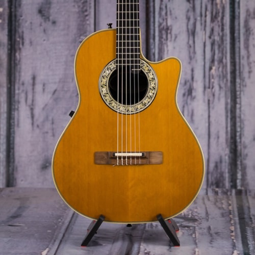 1763 Ovation Classic Nylon String Acoustic Electric, Natural