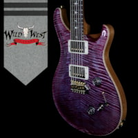 2018 Paul Reed Smith -PRS PRS Wood Library 10 Top Custom 24-08 Flame Maple Top Brazilian Rosewood Fingerborad Violet