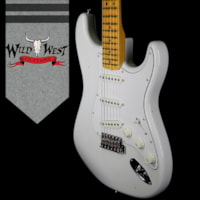 2018 Fender Custom Shop Jimi Hendrix Voodoo Child Signature Stratocaster Journeyman Relic Olympic White VC0131