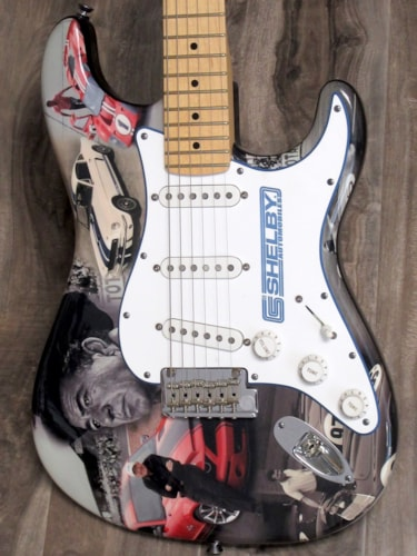 """2009 Fender  Stratocaster """"Carroll Shelby"""" Limited Edition 1 of 100"""