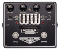 Mesa Boogie Throttle Box Distortion with 5 Band EQ