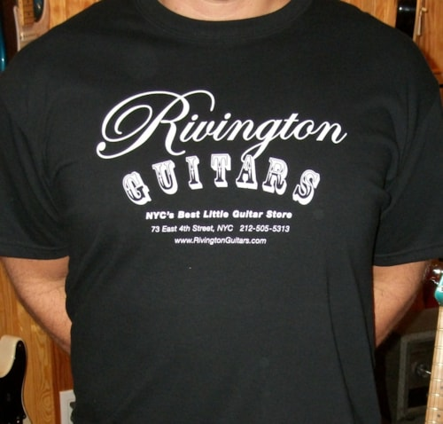 2011 A Rivington Guitars T-Shirt