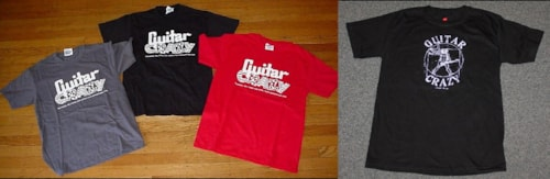 2011 Guitar Crazy T SHIRTS