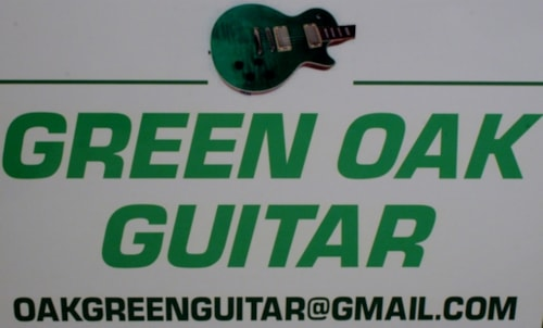 Green Oak Guitar