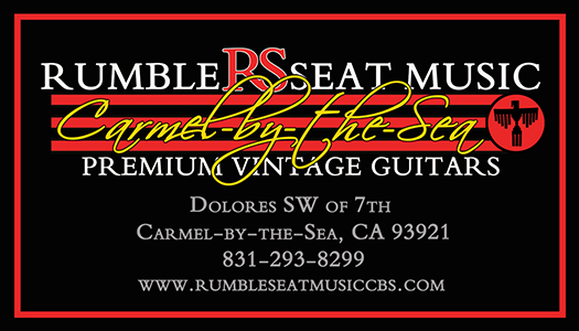 Rumble Seat Music Carmel by the Sea