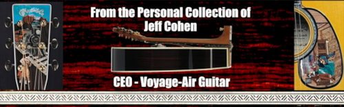Voyage-Air Guitars Jeff Cohen Collection